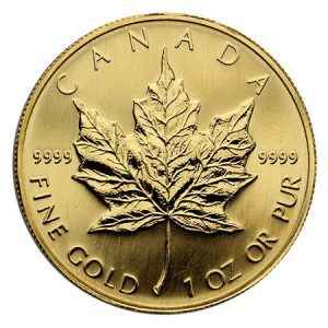 Canadian Maple Gold Coin