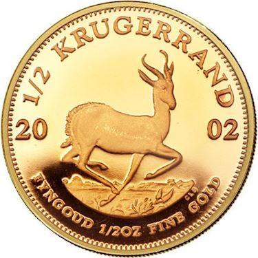 Krugerrand -½oz
